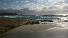 Wild Weather (di on the wallaby) Tags: explore coast beach waves stormy cosycorner tasmania australia