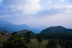 Melancholy Strain (criatvt) Tags: blue sad depression monochrome kerala trivandrum mountain clouds mist dusk