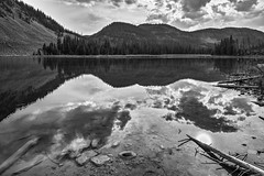(LuminousWest) Tags: sigma dp dp0 dp0q quattro sigmaquattro foveon landscape x3f monochrome reflection mountain lake bw black white blackwhite blackandwhite dp0q2701 luminouswest luminous west colorado