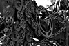 Body of Gears (Jade Chanoquaway) Tags: nikon nikkor d5500 fall september autumn blackandwhite black white grey gray grayscale greyscale bw contrast light shadow monochrome shadows outdoor outside outdoors industrial decay metal iron rust rusty rusted rusting machinery machine machines texture gear gears chain chains canada ontario silhouette cans2s