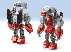GT Exo-Suit - Front & Back open [a LEGO Ideas project] (Lilac Hat Brick) Tags: lego exosuit alien mech mecha robot galaxytrooper space neoclassicspace scifi sciencefiction future
