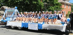 Richmond Varsity Cheer Team (Hear and Their) Tags: good old days parade richmond michigan heroes honouring honoring varsity cheerleader cheer leading team