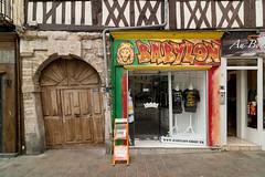 Babylon (Bahi P) Tags: babylon shop rouen france archway normandy