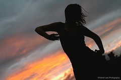 Shivani H. (Velvet Lies Photography) Tags: model pentax woman shivanih belgie plant nature outdoor sunset pentaxk500 silhouette goddess ricoh goldenhour person redsunset female sky belgium clouds bel