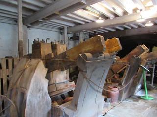 Upper Mill Helmshore fulling stocks