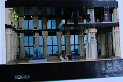 Operation Big Apple: Interior White Pillar Building (✠Andreas) Tags: city lego military darkwater diorama thepurge thepurgeeu thepurgediorama operationbigapple