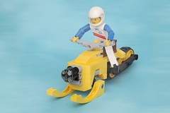 Snowmobile (pasukaru76) Tags: lego vehicle snowmobile moc canon100mm ironbuilder technicscale