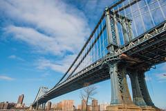 Manhattan Bridge from DUMBO, Brooklyn, New York (Strabanephotos) Tags: new york city bridge november usa wednesday state manhattan under dumbo overpass down 14th 2012