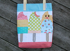 Posicle Tote (Fresh Lemons : Faith) Tags: popsicle totebag paperpieced thesweetestthing pinkpenguin bonnieandcamille