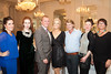 Meghan Mills O'Riordan, Myrtle Ivory, Designer Dawn Fitzgerald, Cian � Broin, GM Hotel Meyrick, MC Marietta Doran, Designer Patrick Casey, Jewellry Designer Christina Brosnan and Marina O'Riordan, Myrtle Ivory pictured at An Evening of Timeless Elegance at Hotel Meyrick. Photo Martina Regan