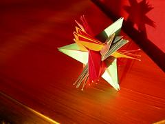 Strelizia  Acuminata| Almost-Planar (Andrey Hechuev | Андрей Хечуев) Tags: love paper origami papier paperfolding papiroflexia papercraft planar geometria origamistar strelizia kusudama sterlizia origamiflowers papiel origamimodulare streliziaacuminata almostplanar