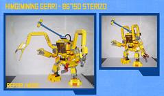 HIMG(mining gear) - 86750 sterizo (Commander626) Tags: robot lego hard suit mech sterizo reapir