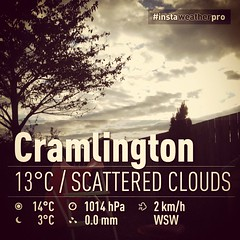 Cloudy day in Cramlington (Simon.Davison.Photography) Tags: cold weather cloudy cramlington app iphone overcasst instagram instwawthr