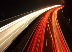 Autos 2 (MB Pics BOH) Tags: auto licht autobahn a3 lichtstreifen