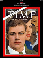 Time: 1966 Person of the Year (StudioEgo) Tags: magazine person time cover             time time