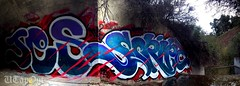 JES SCRIPT (UTap0ut's Pinche Mero Mole!) Tags: santa ca jes graffiti barbara graff script aub ki 159 upn kic ofn jesr 159c uploaded:by=flickrmobile flickriosapp:filter=nofilter