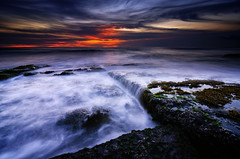Mystical Lima (eggysayoga) Tags: sunset sky bali cloud sun seascape indonesia landscape nikon lima tokina filter lee nd graduated waterscape canggu neutraldensity seseh 1116mm pererenan d7000