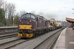 37676 West coast Railways working 6Z47 Hinksey to Doncaster at Leamington Spa (JMPhotography2016) Tags: west water station train coast cross malcolm crane rugby country great group first rail railway sunny trains db 66 class virgin kings western leamington 37 70 railways spa 90 86 92 freight 60 banbury sutton 56 orton 43 stafford doncaster hst daventry  freightliner pendolino drs colas divert shenker hinksey 56094 37611 37676 60007 60079 66086 66434 67012 6z47 powerhaul 0z87 jmphotography2012 station37676