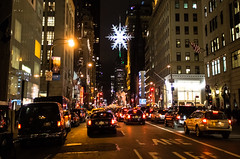 Snowflake over Fifth Avenue (Dan Nguyen @ New York City) Tags: christmas nyc winter holiday shopping manhattan midtown gothamist fifthavenue