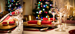 """""""Christmas is not a time nor a season, but a state of mind"""" (pablofalv) Tags: christmas eve tree home glass dinner 35mm navidad nikon december bokeh interior decoration pablo ornaments nikkor avils fernandez pablofalv d3100"""