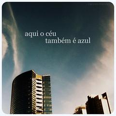 Aqui o céu também é azul. (Narciso Mendes) Tags: tower azul infinity céu vista paulo bibi são itaim