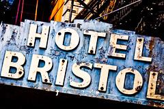 Hotel Bristol (Thomas Hawk) Tags: california usa hotel losangeles neon unitedstates 10 unitedstatesofamerica bristolhotel fav10 hotelbristol