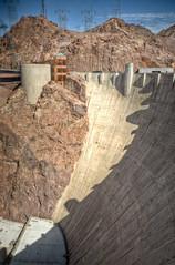 Hoover Dam And Visitor's Centre (Keith Watson Photography) Tags: arizona dam nevada hoover googleearth hdr lasvegasvacation 93793499n00