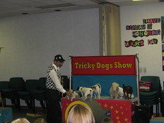 Tricky Dog Show (Clearwater Public Library System Photos) Tags: dogs youth dogshow clearwater dogtricks youthprograms clearwaterpubliclibrarysystem summer2012 clearwatereastlibrary trickydogshow