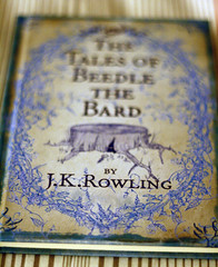 The Tales of Beedle the Bard (jenna_flannagan) Tags: blue tree slr canon photography 50mm book design tales harry potter stump bard jkrowling dlsr beedle