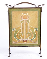 "An Art Nouveau Glass Firescreen • <a style=""font-size:0.8em;"" href=""http://www.flickr.com/photos/92426936@N05/8338519874/"" target=""_blank"">View on Flickr</a>"