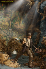 Indiana Jones. The Adventure Continues. (Clarkent78) Tags: toys indy actionfigures indianajones diorama hasbro indianajonesandthetempleofdoom toyphotography toyphotographer toydiorama hasbrotoys clarkent78 jeffquillope indianajonesdiorama indianajonesandtheraidersofthelostarc toyphotographyaddict