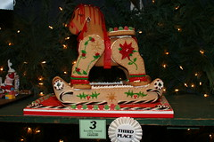 Ginger Bread Rocking Horse (plstt) Tags: gingerbreadhouses peddlersvillage buckscopa