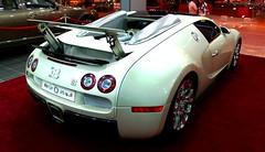 Bugatti Veyron 16.4 Grand Sport . . . (ATFotografy) Tags: light red italy sports car sport night speed back hp awesome tail rear engine grand creme chrome saudi arabia 164 rims bugatti riyadh saudiarabia eb spoiler 2010 veyron 1000hp fibrafoil atfotografy