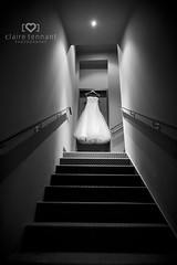 In the spotlight (Photography by Claire) Tags: wedding detail geometric lines blackwhite dress dramatic leading d700