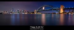 Sydney Harbour Australia Night Panorama (Kiall Frost) Tags: city longexposure bridge seascape night landscape photography photo nikon cityscape nightscape image harbour sydney australia le nsw operahouse d7000 kiallfrost