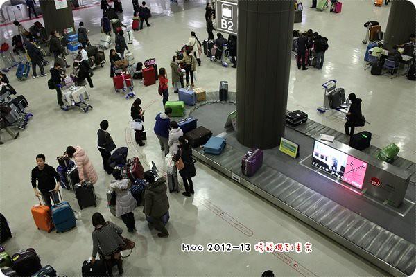 成田空港領行李