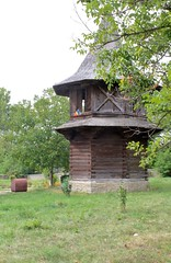 "Tournul Clopotnia de Lemn (Wooden Bell Tower) of Biserica ""nlarea Sfintei Cruci"" (Church of Exhaltation of the Holy Cross) - Ptrui, Jud. Suceava, Romania (Wayne W G) Tags: eruope easterneurope patrauti romanina geo:country=romania"