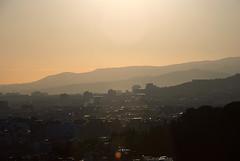 DSC_7389 (franco__juan) Tags: barcelona city light sunset view parc güell