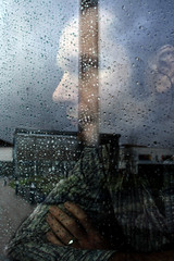 ... (Hollie Dearing) Tags: reflections trapped alone portraiture depressed pondering lookingout