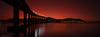 Red morning (GeirInge) Tags: bridge red seascape sunrise landscape ngc arctic soe nordnorge nationalgeographic tromsø kvaløya northnorway kvaløysletta flickraward sandnessund bestcapturesaoi flickraward5 flickrawardgallery bestevergoldenartists besteverexcellencegallery