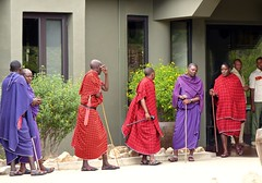 Masai at the Four Seasons