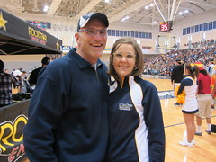 Chris Wahl, MD Chief of Sports Medicine and Suzanne Wahl, PA