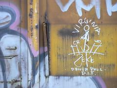 virginia zeke driver pull dif (httpill) Tags: railroad streetart art train graffiti virginia streak tag graf railcar boxcar streaks zeke railways freight monikers moniker hobotag hobomoniker hoboart benching paintsticks boxcarart oilbars freighttraingraffiti virginiazeke markals