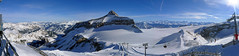 The glacier in the Diablerets (RodaLarga) Tags: panorama snow landscape lumix switzerland suisse pano panoramic panasonic snowboard diablerets lx5