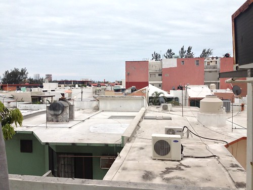 our apartment in veracruz - rooftop view