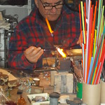 "<b>Murano Glass Artisan at Work</b><br/> ""In Franenstein's Footsteps,"" J-Term 2013<a href=""http://farm9.static.flickr.com/8223/8392505026_c0d562033a_o.jpg"" title=""High res"">∝</a>"