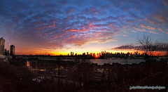 Good morning New York! 1/19/13 (Jason Pierce Photography) Tags: city nyc newyork dawn colorful cityscape cityscapes hudsonriver scape hdr raysoflight westnewyork sunstars jfkblvd 2013 fisheyezoom newyorkcitysunrise manhattansunrise blvdeast newyorkcityphotography todayssunrise canon5dmarkii nyccityscapes newyorkcitycityscapes jasonpiercephotography bestpicturesof