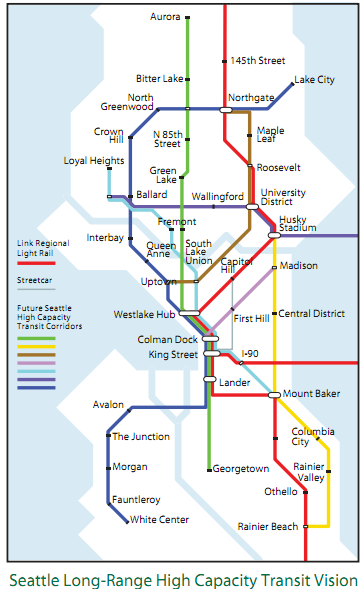 Learn More About The Plan For Seattles Public Transit
