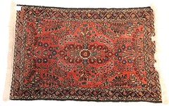 76.  Persian Sarouk Area Rug