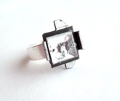Industrial upcycled ring (d'ekoprojects) Tags: recycled handmade jewelry ecofriendly handmadejewelry ecofashion handmadeearrings upcycled ecochic recycledjewelry recycledjewellery industrialjewelry ecofriendlyjewelry recycledearrings upcycledjewelry recycledplasticbottle upcycledearrings